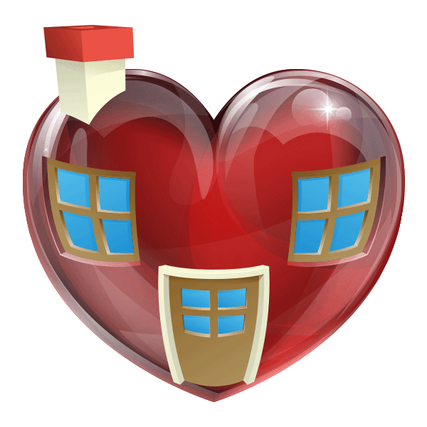 Heart-Shaped Home