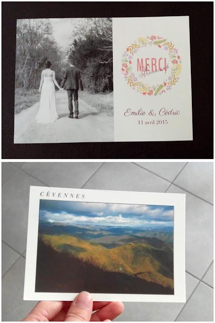 carte postale, correspondance, mariage, cévennes, bullelodie