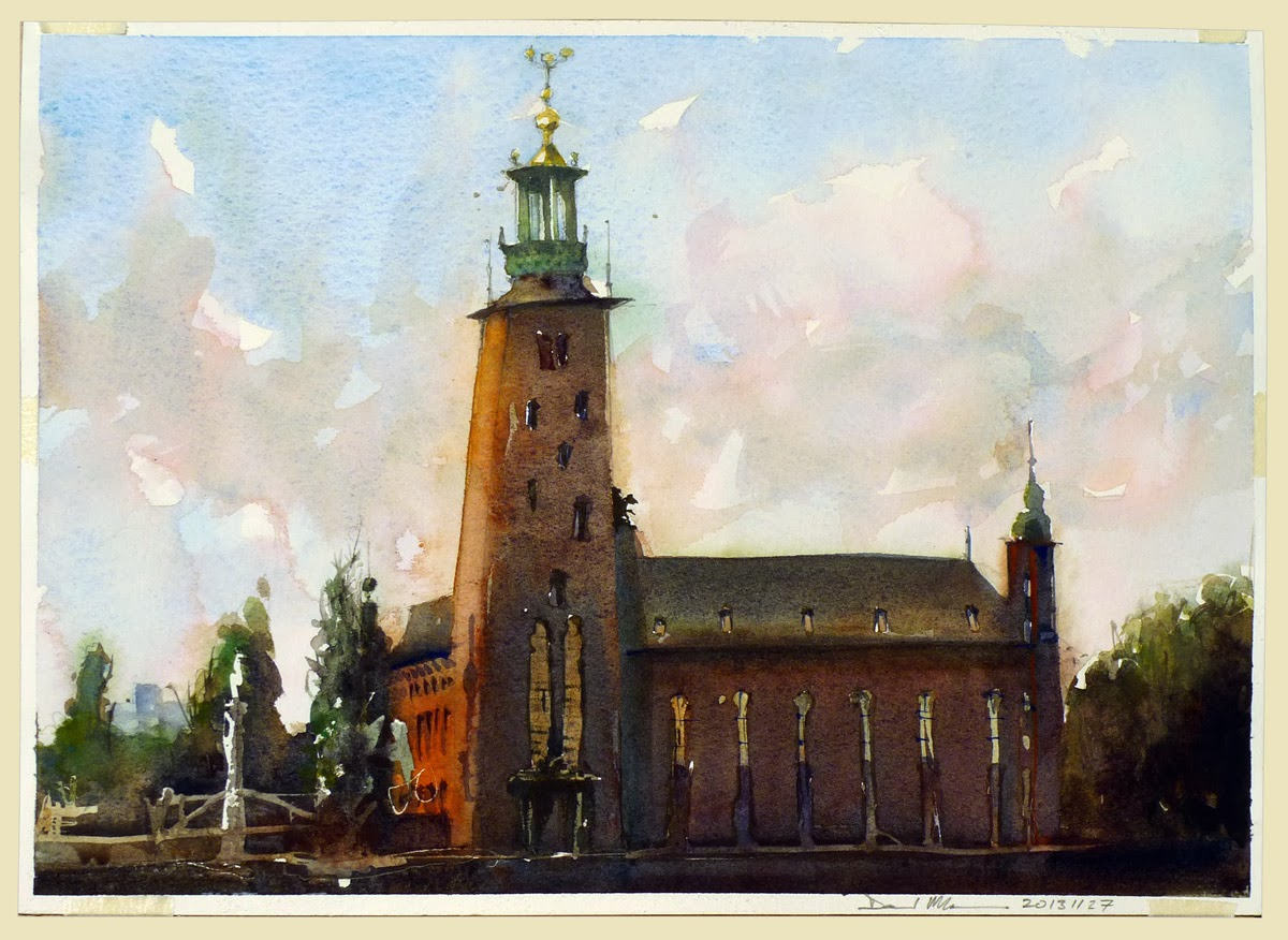 Stockholm's Town Hall by David Meldrum