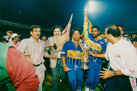 Sri Lanka 1996 World Cup Champion