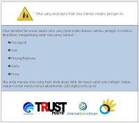 Contoh URL yang sudah diblok oleh pemerintah Indonesia lewat Depkominfo
