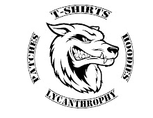 Lycanthrophy Tshirts: Playeras / Patches & Hoodies