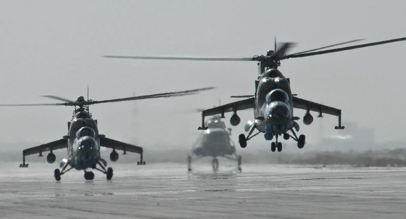 Helikopter MI-35 TNI AD
