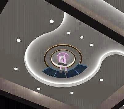 false ceiling for modern interior living room - Living Room Pop Ceiling Designs