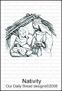 Our Daily Bread Designs - Stamps Nativity
