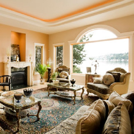 Formal living room ideas living room decorating ideas for Pictures of decorated living rooms