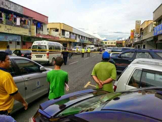 Gambar Kejadian Tembak Menembak Di Penampang Sabah