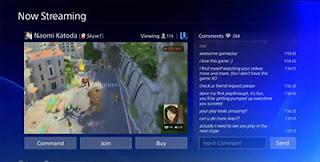 PS4 Playstation Streaming