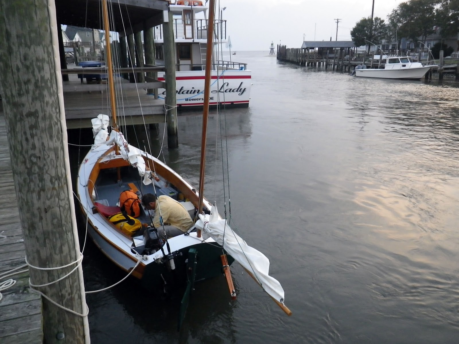 The Log Of Spartina Day Four Light Winds To Lewes Fight Night