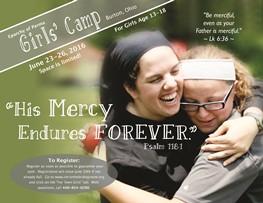 Girls' Camp, June 23-26