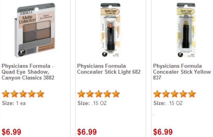 Physicians formula cosmetics coupon 2018