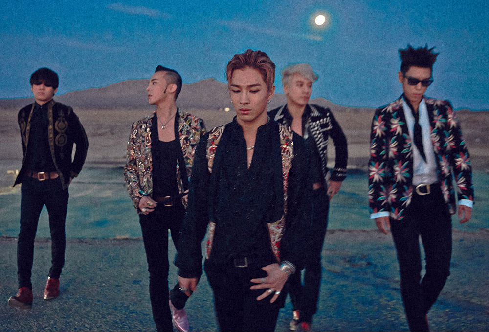 Big Bang Korean Boy Group
