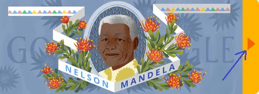 GOOGLE DOODLES-NELSON MANDELA