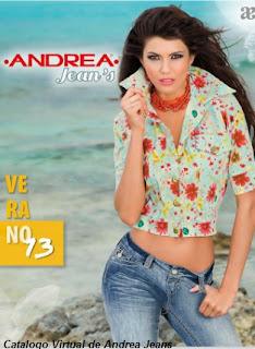 ropa que nos trae en su interior el Catalogo de Andrea Jeans Verano