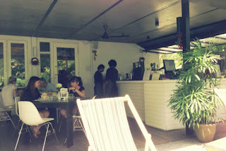 outdoor sitting at Marmalade Pantry