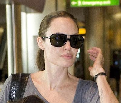 Angelina Jolie Without Makeup 2013