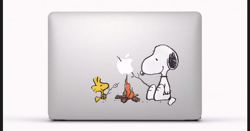 MacBook AirのTVCM「Stickers」が好きすぎる