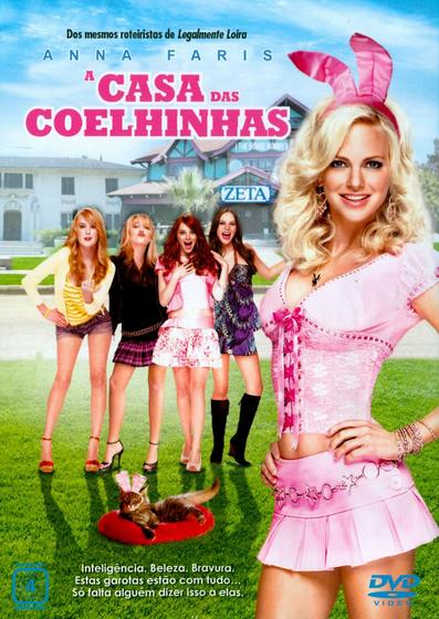 Filme A Casa das Coelhinhas Dublado AVI DVDRip