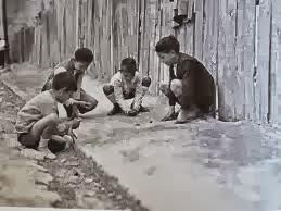 LAS CANICAS, JUEGOS TRADICIONALES DÉCADA 1950-1960