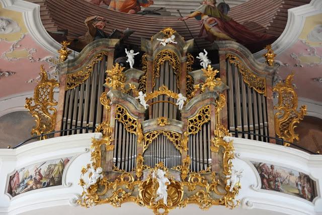 Pfarrkirche St Peter Paul Oberammergau Organ