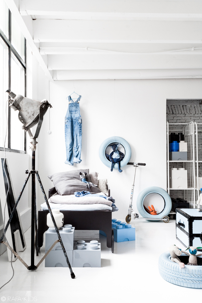 cool child room with Rafa-kids toddler bed - styling Paulina Arcklin/photo Rafa-kids