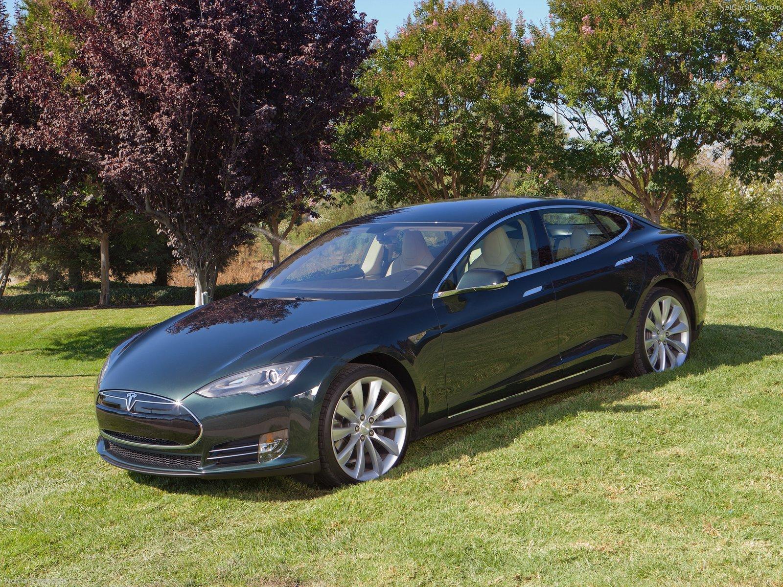 Hình ảnh xe điện Tesla Model S 2013 & nội ngoại thất