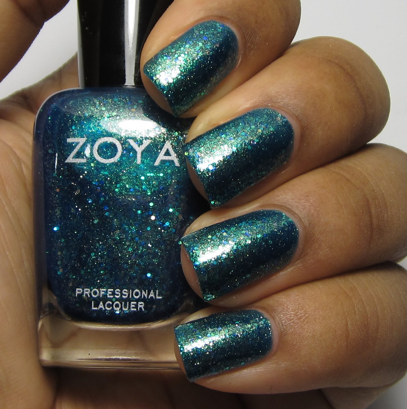 Zoya Muse Bubbly Collection blue nail polish swatch
