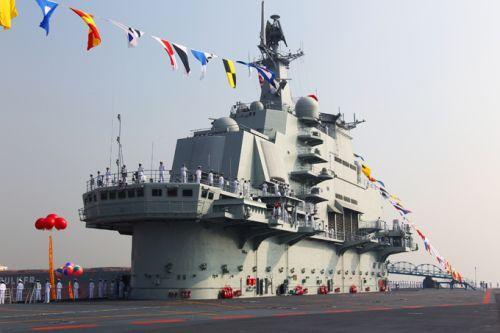 Kapal Induk Cina Liaoning