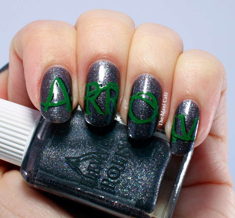 Arrow nail art design Elevation Polish