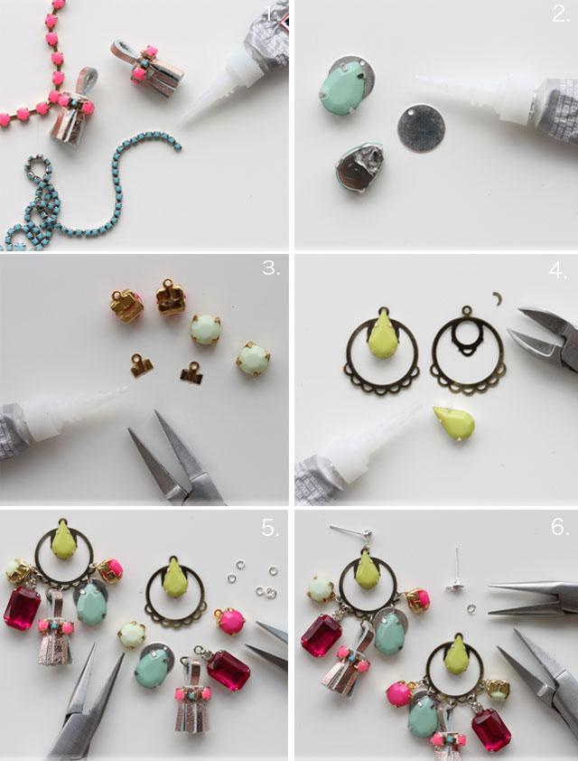 Как сделать свои сережки 229