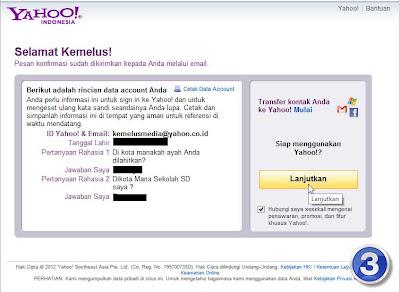 Cara Membuat Email Di Yahoo 4