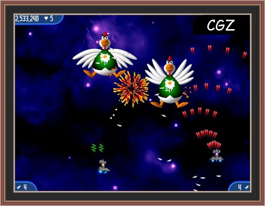 Chicken Invaders 2 The Next Wave Screenshot 3 BY Check Gaming Zone