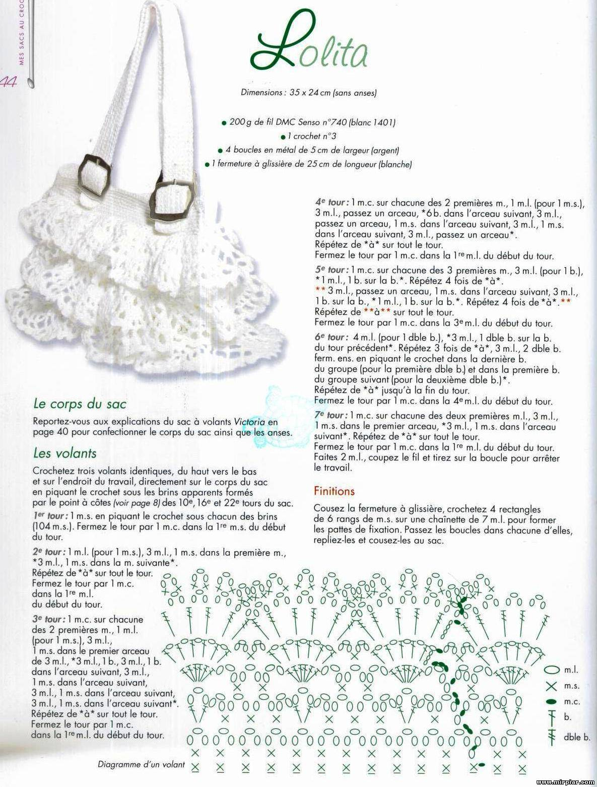 ergahandmade     Crochet       bag        Diagrams     Free    Pattern