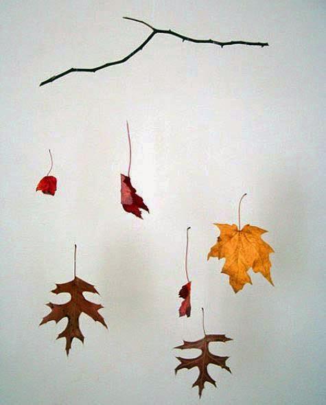 Autumn Leaf Mobile Munchkins And Mayhem