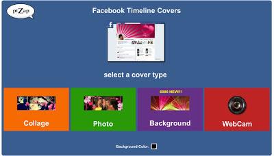 создать обложку для Facebook аккаунта в бесплатном онлайн фото редакторе piZap для новичков