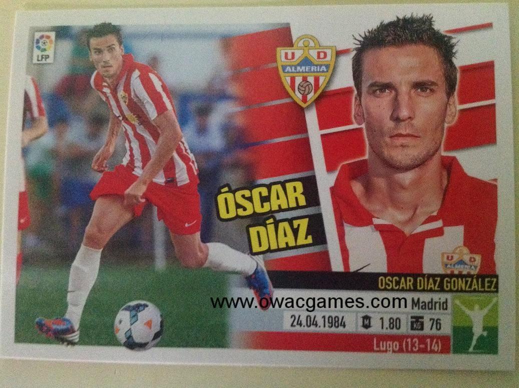 Liga ESTE 2013-14 Almeria 15 - Óscar Díaz