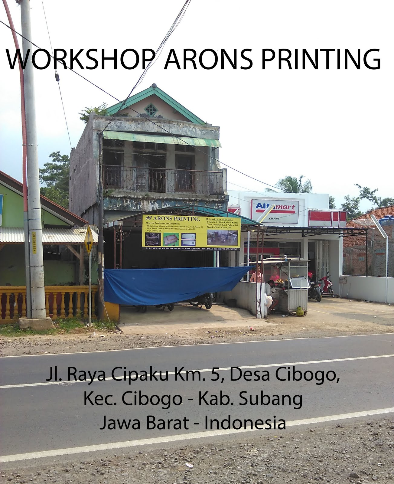 WORKSHOP ARONS PRINTING