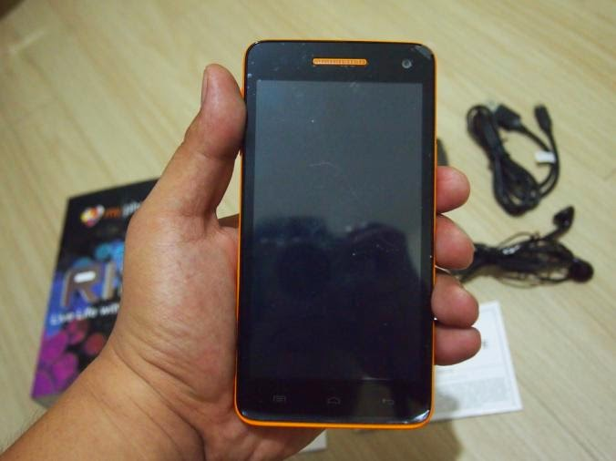 MyPhone Agua Rio Unboxing, Preview And Initial Impression Front