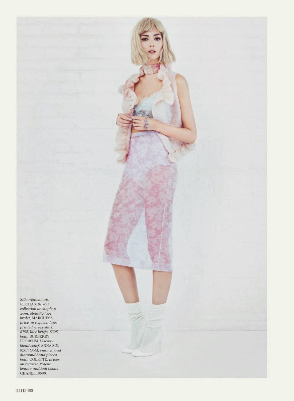 Sheila Marquez HQ Pictures Elle US Magazine Photoshoot March 2014
