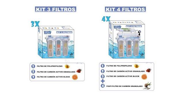 kit de mantenimiento y cambio de filtros de osmosis inversa donde comprar precios