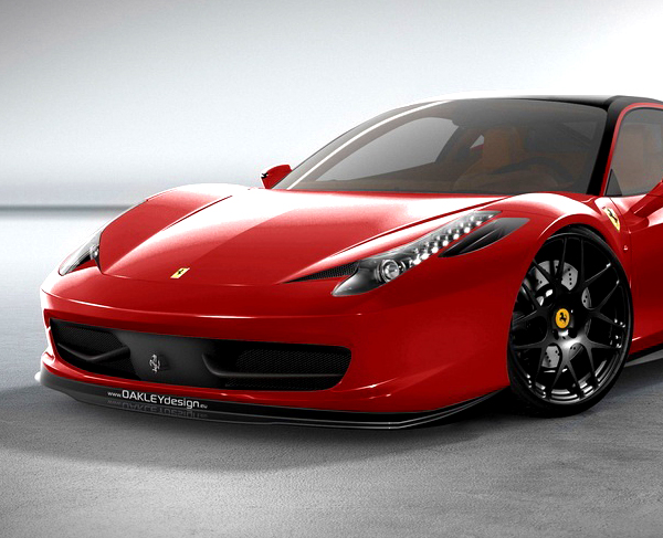OAKLEY DESIGN FERRARI 458 ITALIA LIMITED EDITION | CUSTOM CARS