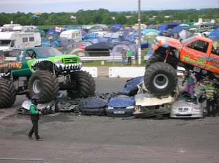 Santa Pod - Monster Trucks