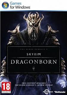 The Elder Scrolls V Skyrim Dragonborn Addon DLC   PC