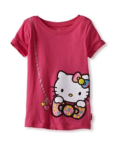 MyHabit: Up to 60% off Hello Kitty Girls: Bow Purse Graphic Tee