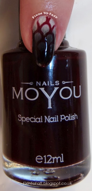 MoYou Nails Special Nail Polish swatch Burgundy