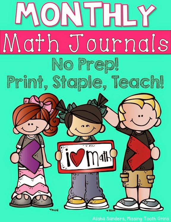 http://www.teacherspayteachers.com/Product/Monthly-Math-Journals-BUNDLE-2nd-Grade-1586478