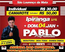 PABLO NO IPIRANGA DE SÃO LOURENÇO.