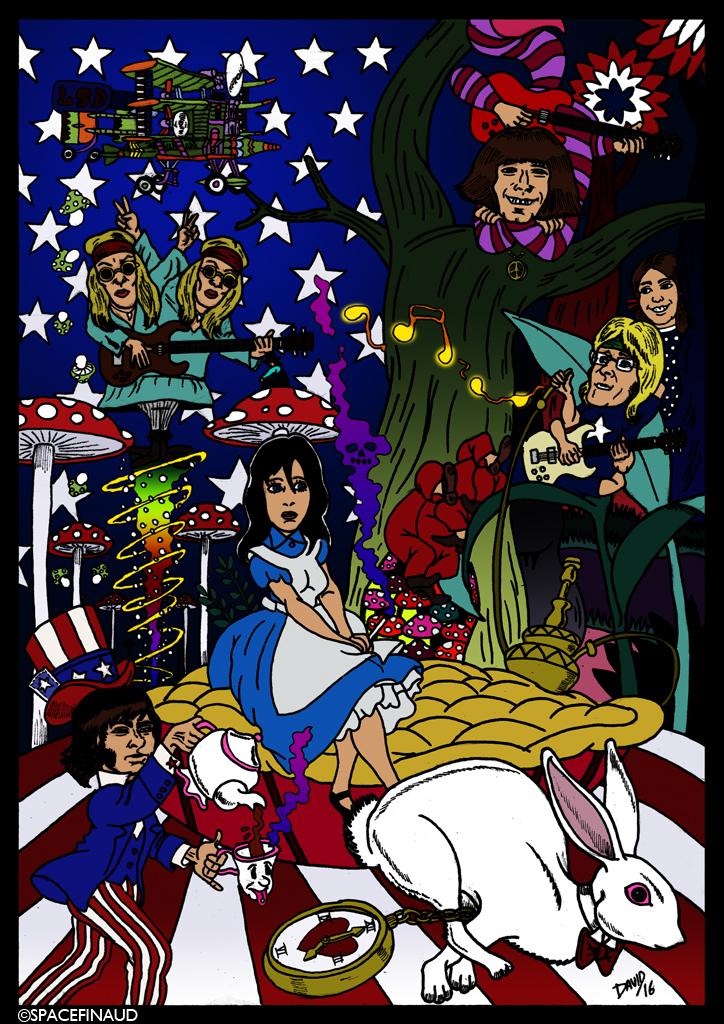 """Les JEFFERSON AIRPLANE, célèbre groupe de rock psychédélique des années 60, viennent de perdre deux anciens membres. Paul Kantner, co-fondateur, guitariste et chanteur. Puis de Signe Toly Anderson, chanteuse, la première voix du groupe.     Signe Toly Anderson resta très peu dans le groupe, elle participa au premier album """"Jefferson Airplane Takes Off"""", en 1966, avant de quitter le groupe pour s'occuper de son enfant.  Elle fut remplacé par Grace Slick.     Ils sont décédés le même jour et le même âge. 74 ans."""