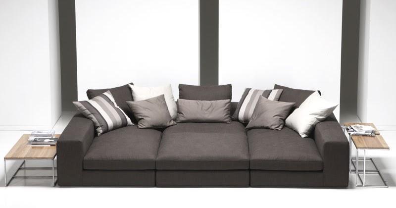 Arredare casa il divano pi comodo composto o relax come scegliere la seduta e comfort ideale - Divano seduta profonda ...