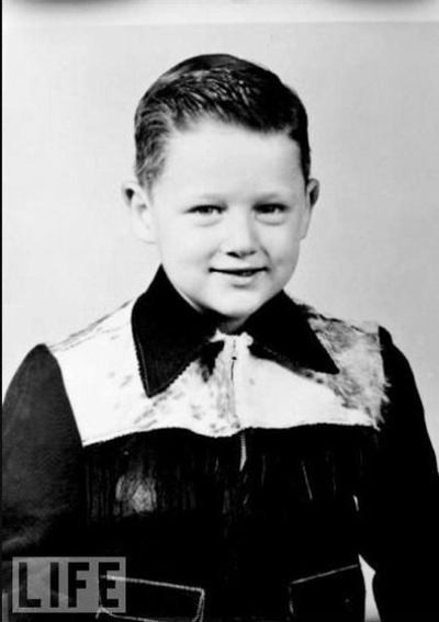 bill clinton, 5 years old, 1952